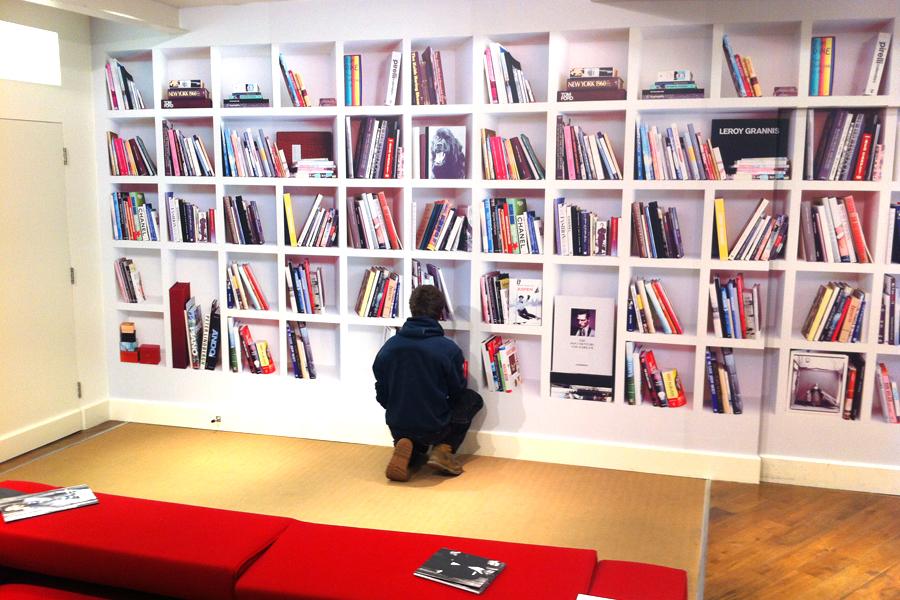 Bookshelfwallwrap