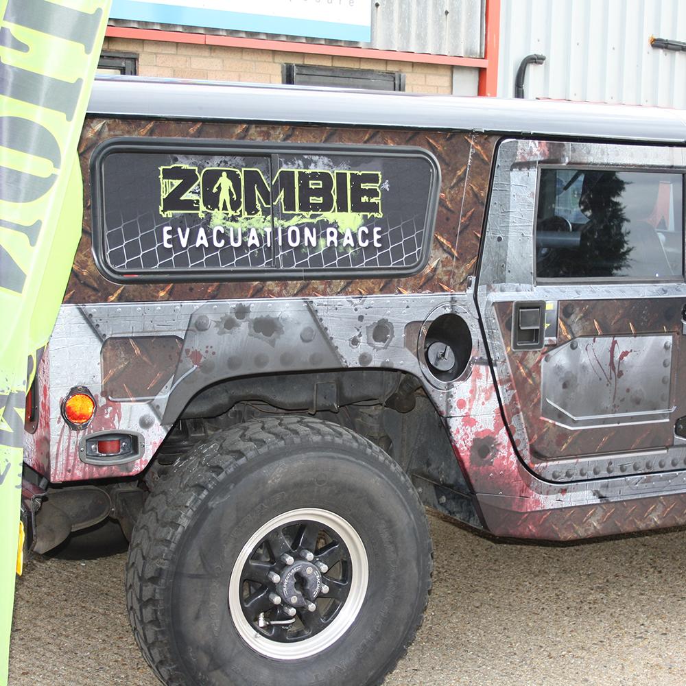 Zombie Apocalypse H1 Hummer