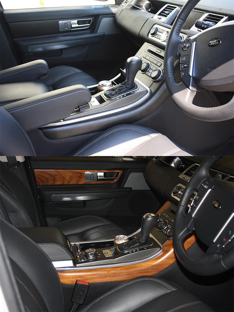 Range Rover Interior Wrapped