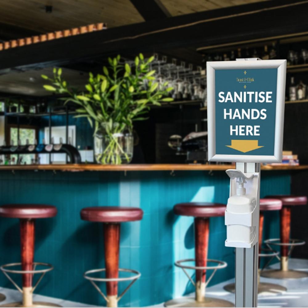 Bar Pub Sanitiser Station