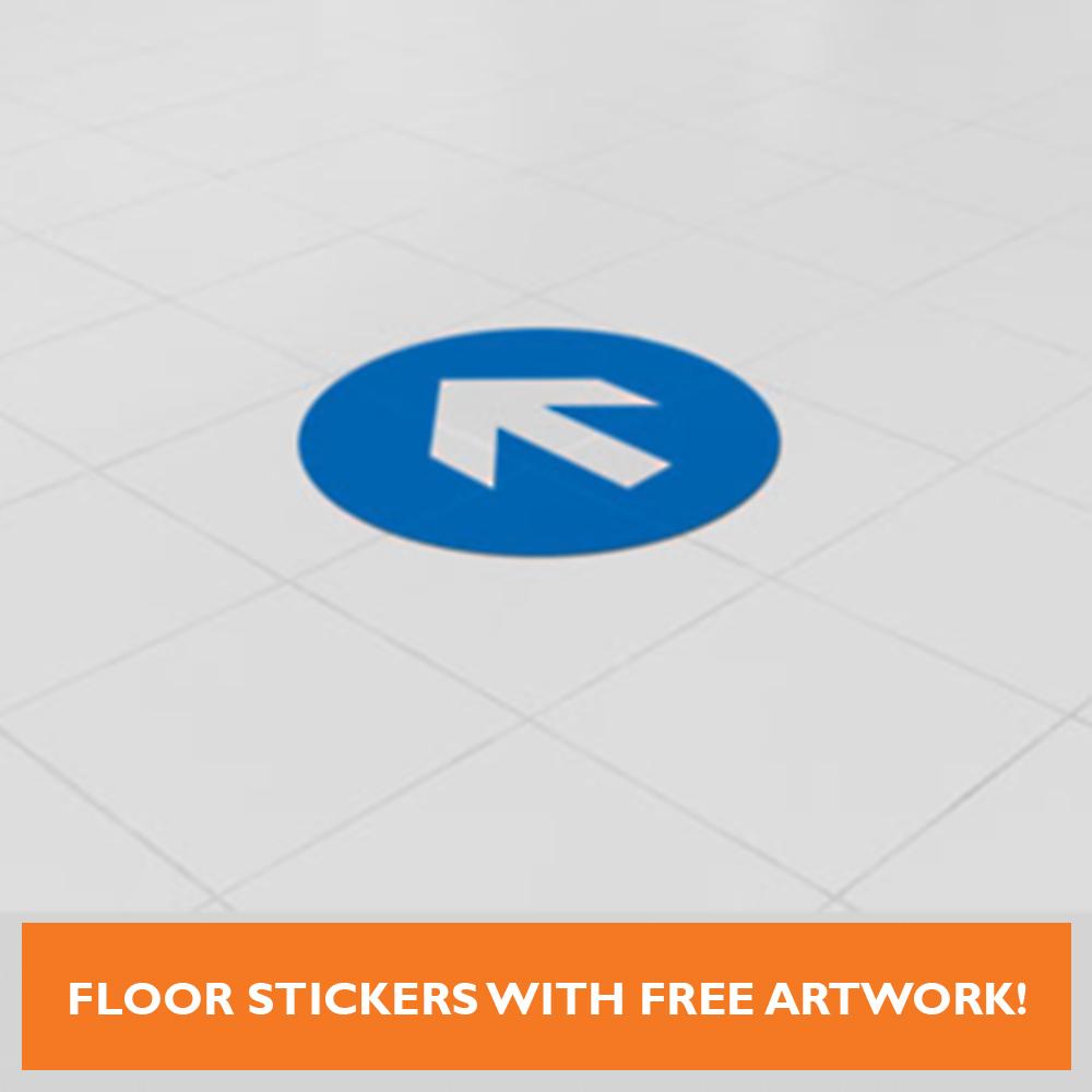 Covid 19 Floor Stickers