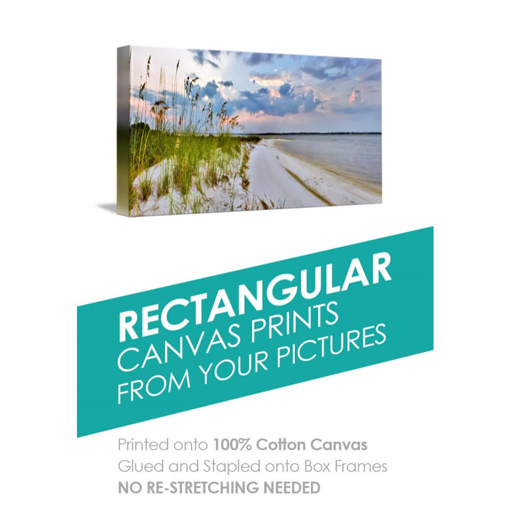 Rectangular Canvas Box Art