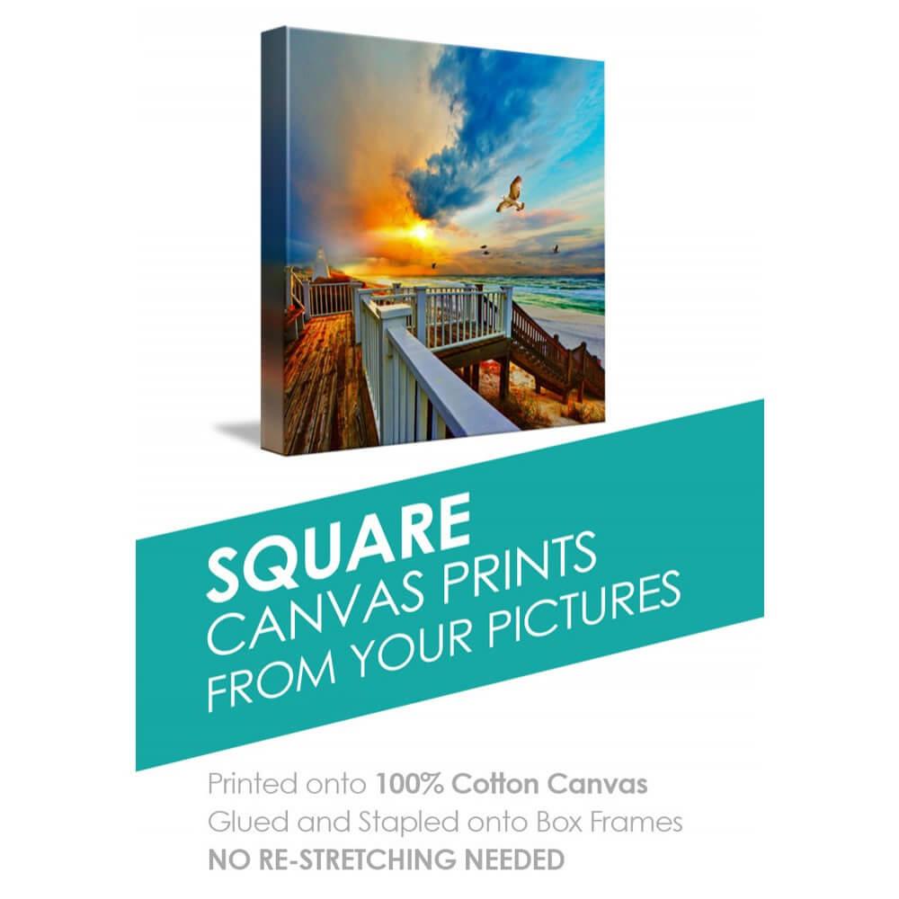 Square Canvas Box Art
