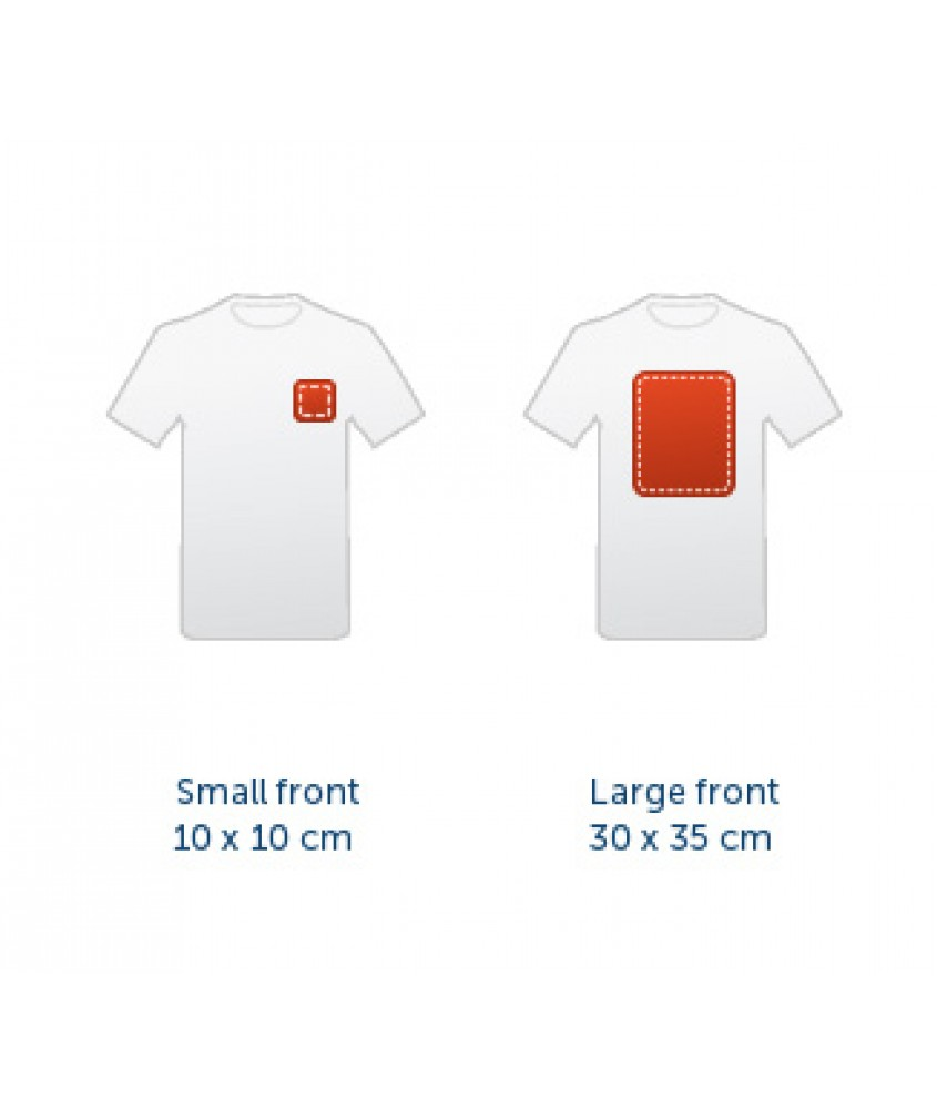 T Shirt Print Area