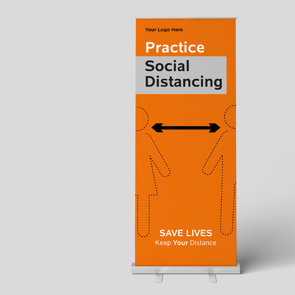 Covid 19 Social Distancing Banner1m