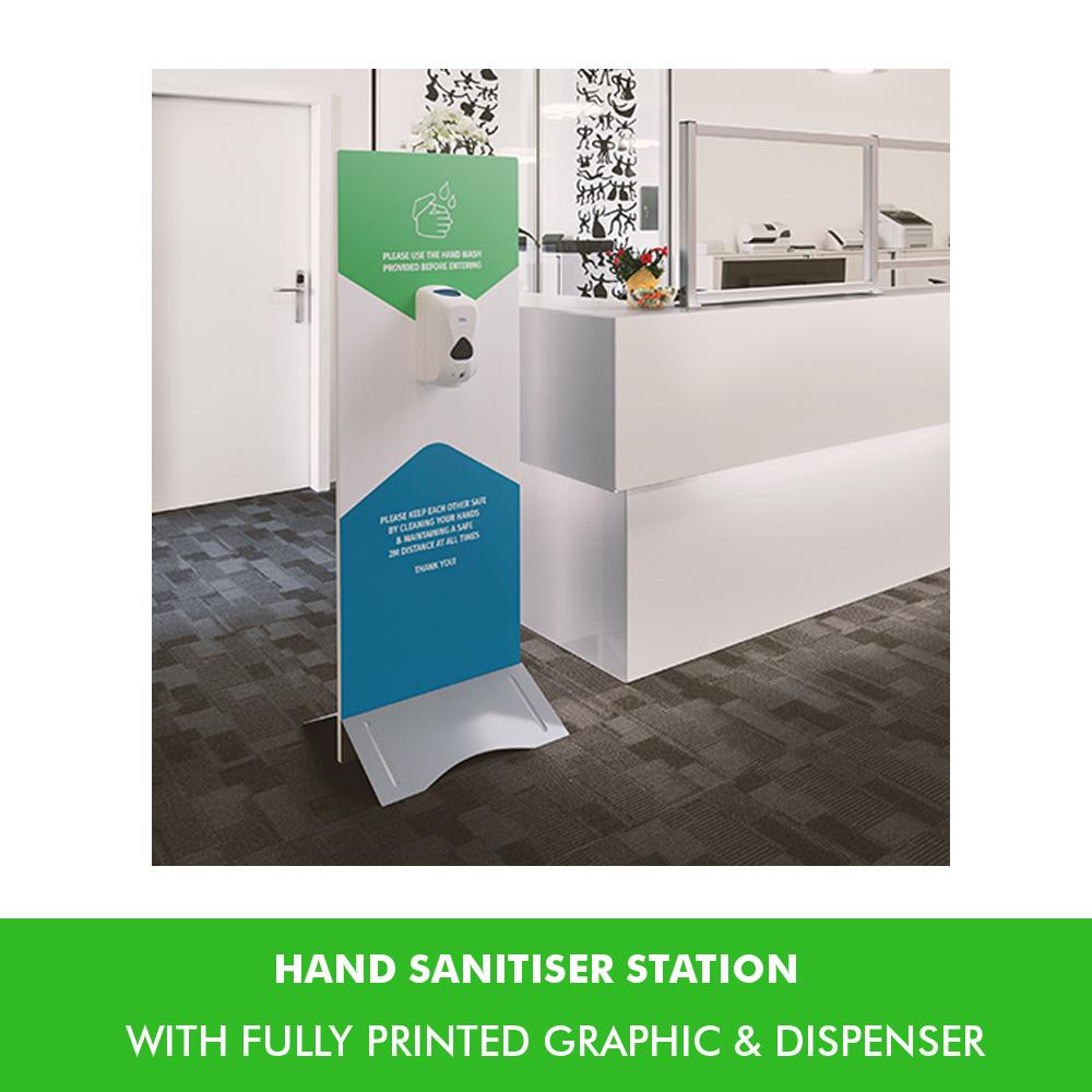 Large Hand Sanitiser Unit