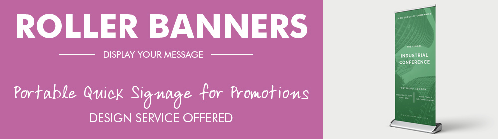 Roller Banner Printing Coventry