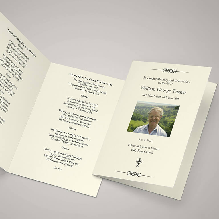 Order of Service Booklet