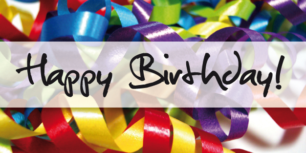 Birthday Ribbons 01 Banner Template Image