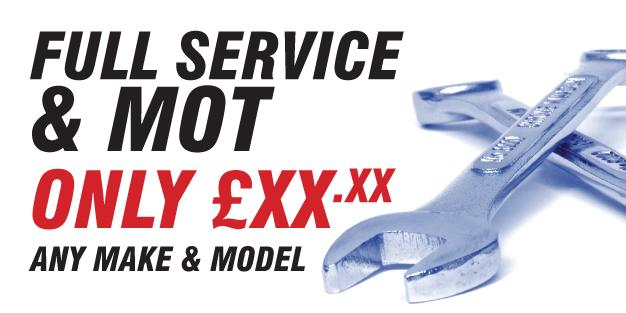 Car Service Mot 01 Banner Template Image