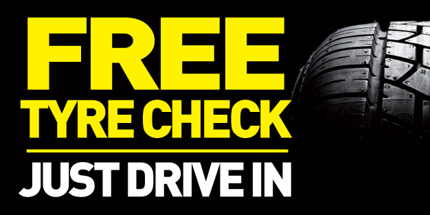 Car Tyre Check 01 Banner Template Image