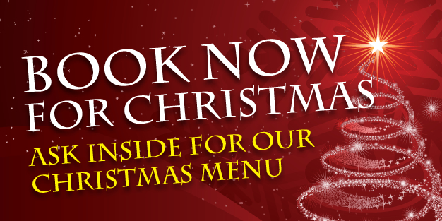 Christmas Book Now Banner Template Image