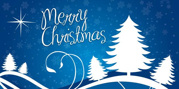 Christmas Horizon Banner Template Image