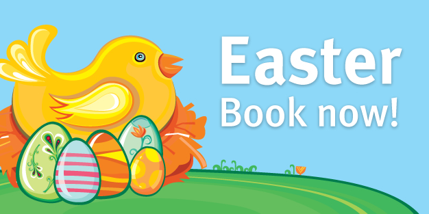 Easter 08 Banner Template Image