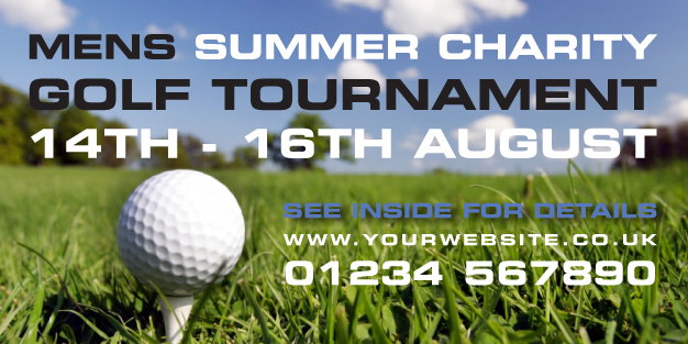 Golf 01 Banner Template Image