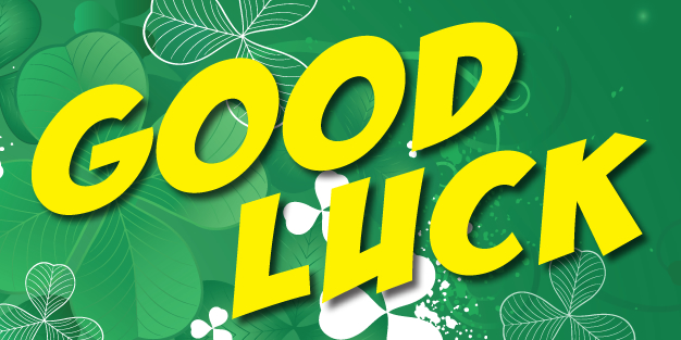 Good Luck 01 Banner Template Image
