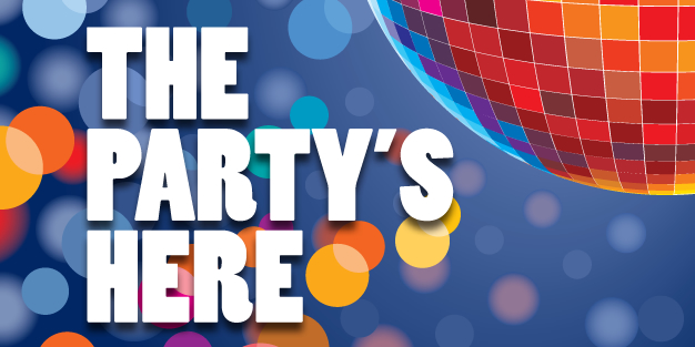 Party 01 Banner Template Image