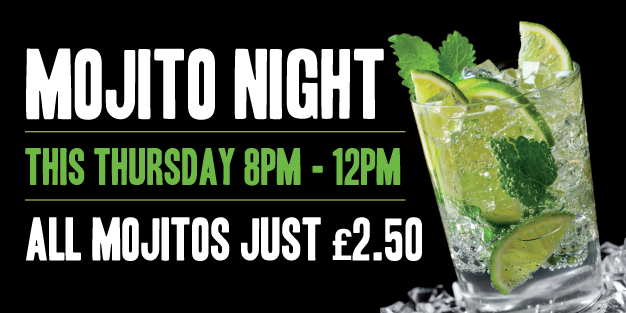 Pubs Mojito Night 01 Banner Template Image
