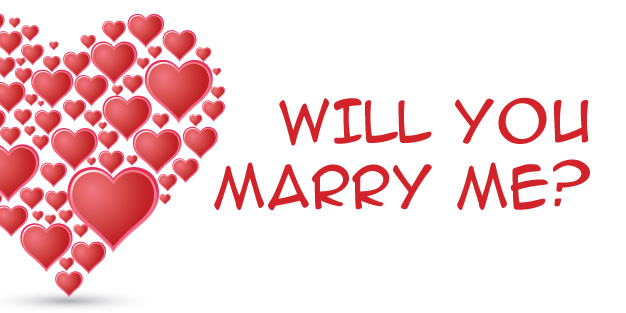Valentines Marry Me 01 Banner Template Image