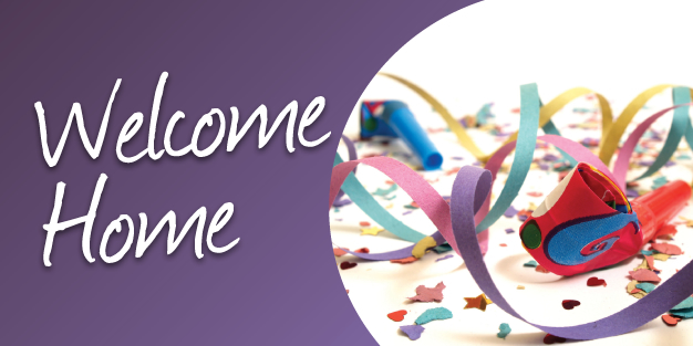 Welcome Home 01 Banner Template Image