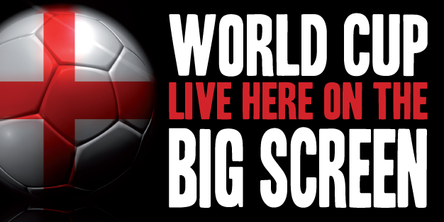 World Cup Big Screen Banner Template Image
