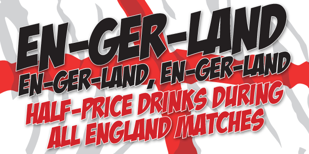 World Cup Eng Ger Land Banner Template Image