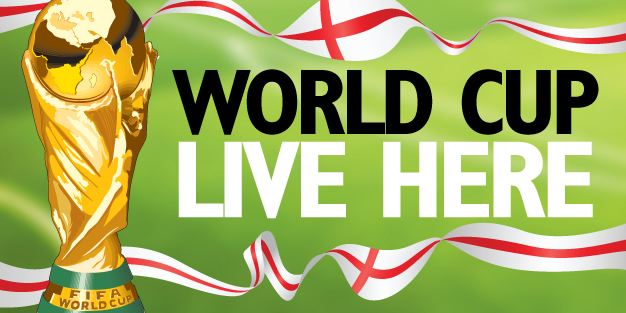 World Cup Live Here 13 Banner Template Image