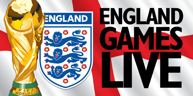 World Cup Live Here 14 Banner Template Image