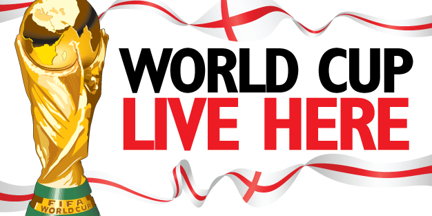 World Cup Live Here 3 Banner Template Image