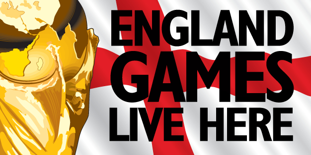 World Cup Live Here 9 Banner Template Image