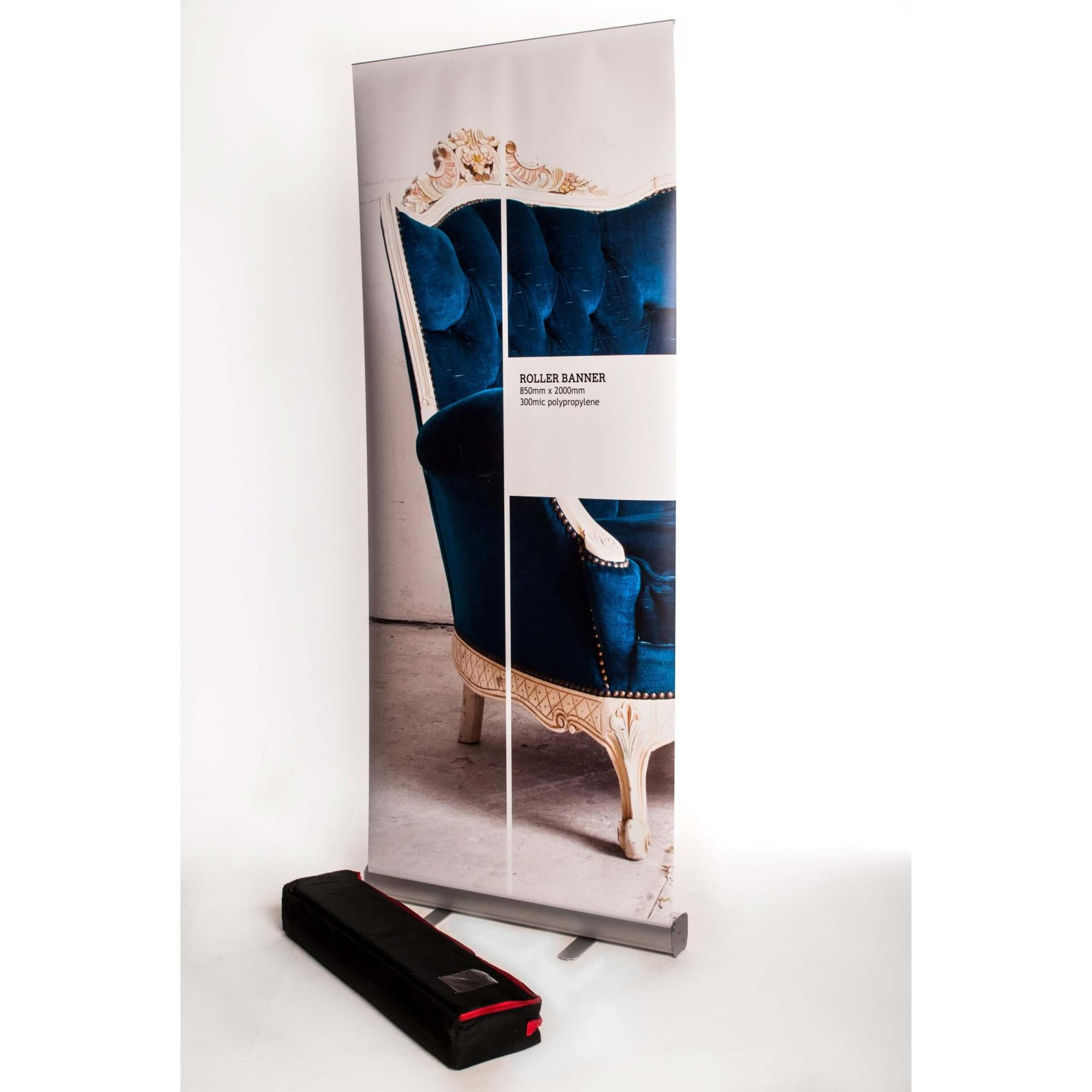 850mm Express Roller Banner With Bag