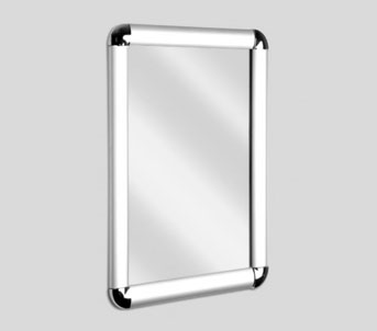 A1 Rounded Corner Snap Frame 343x302