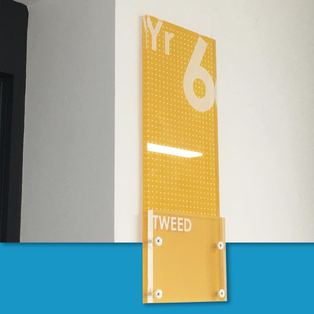 Acrylic Modular Door Signs