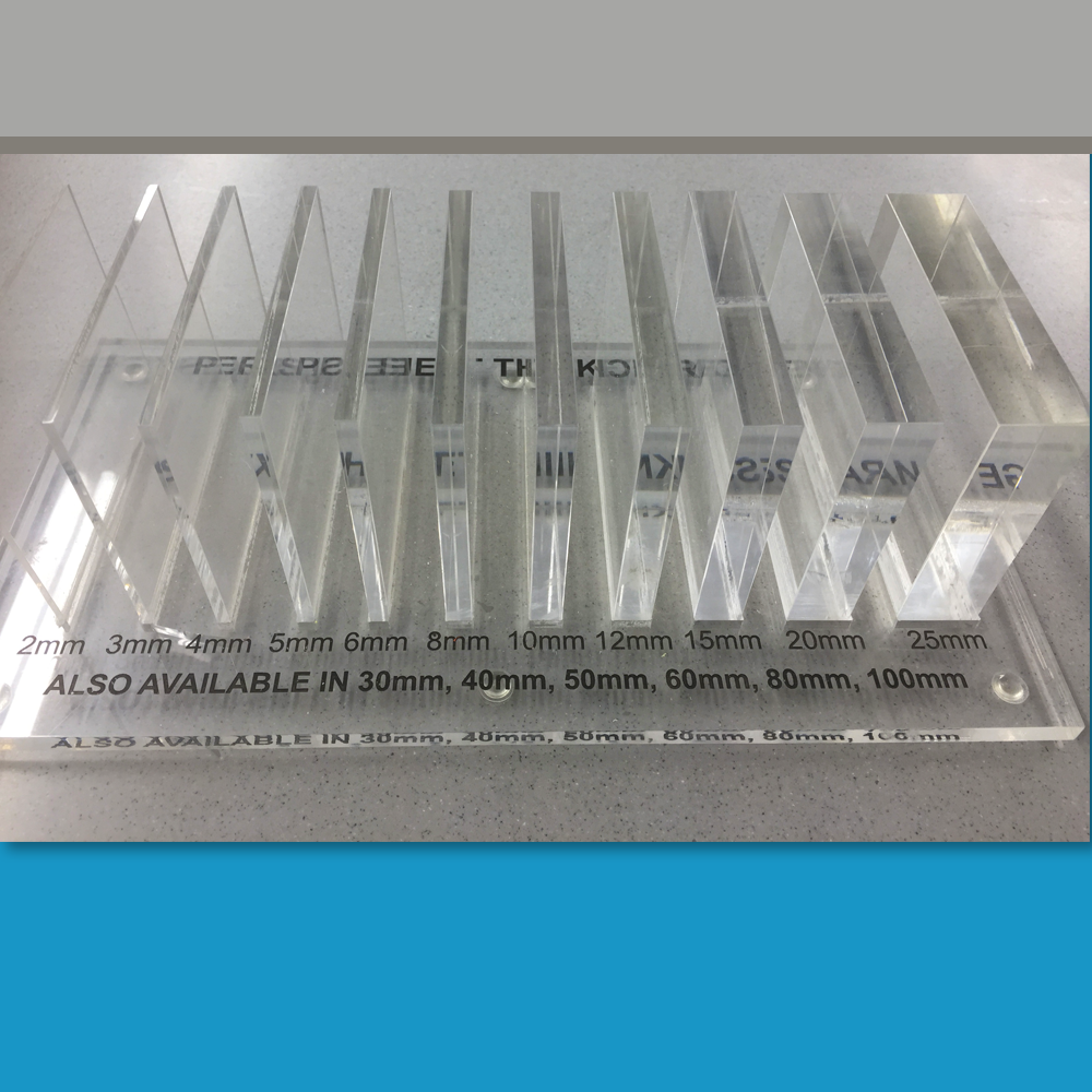 Acrylic Thicknesses