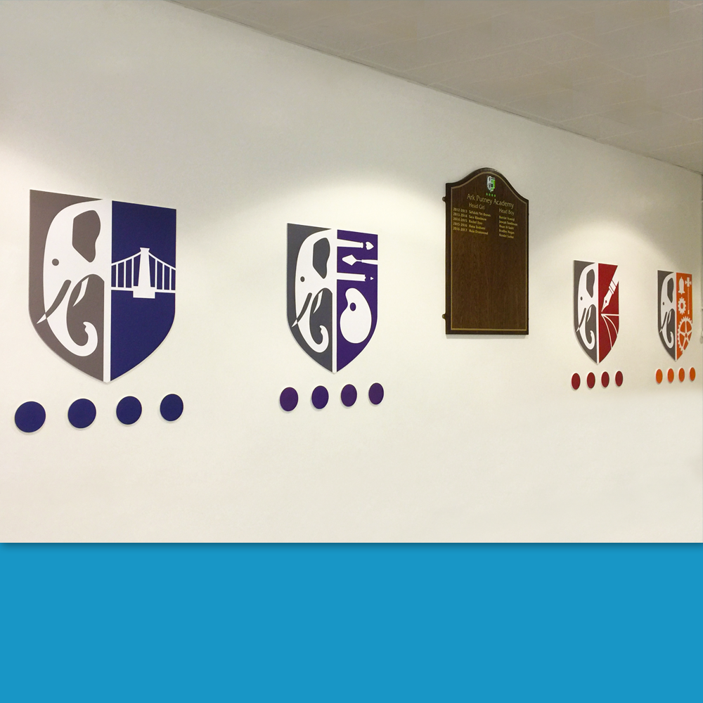 Foamex House Crests