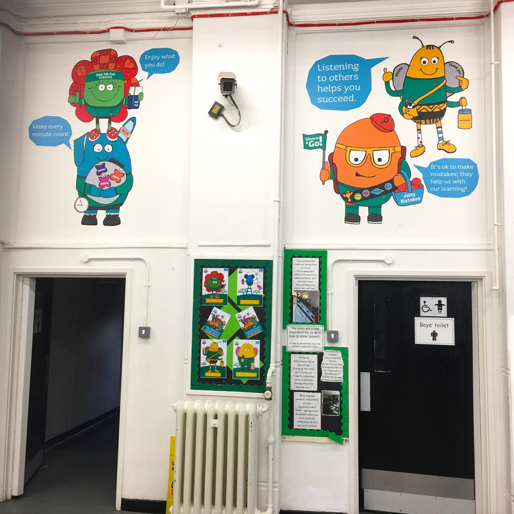 Internal Wall Vinyl for Primary