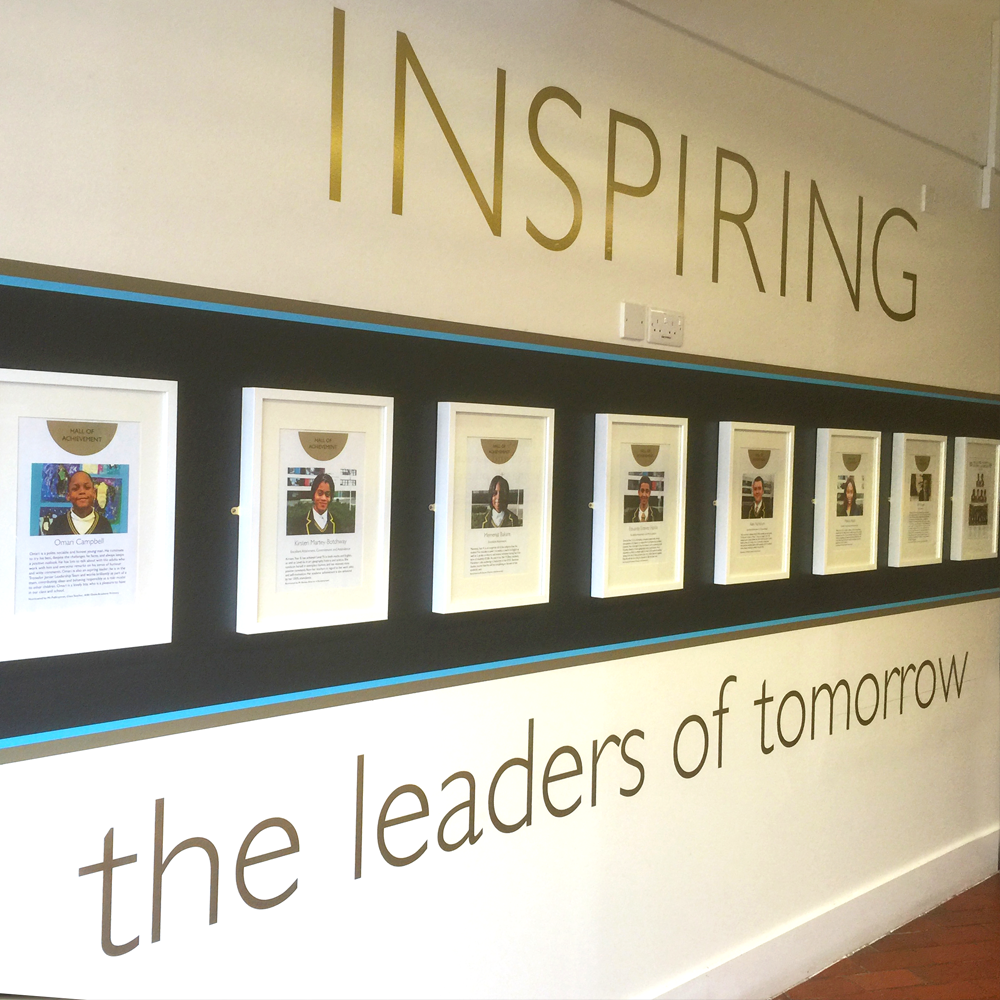 Leadership Wall Wrap Vinyl