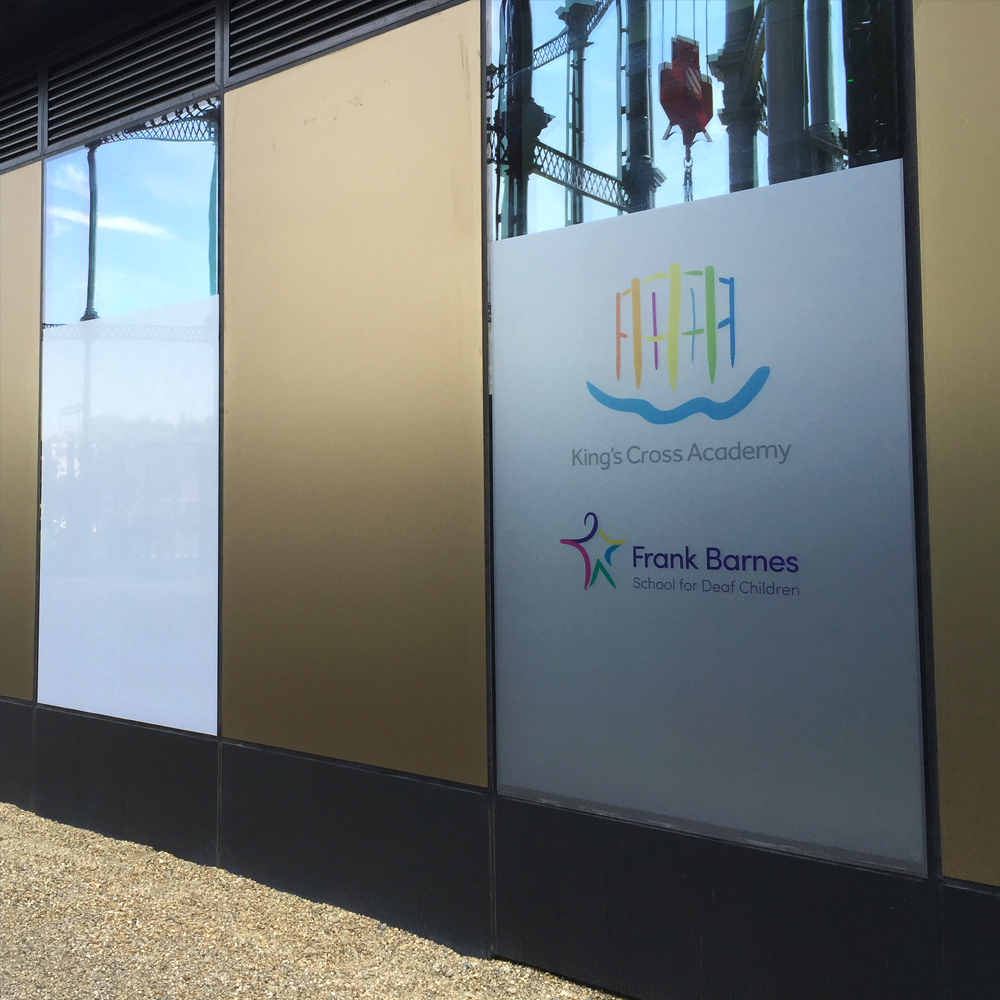 Printed Security Frosted Vinyl