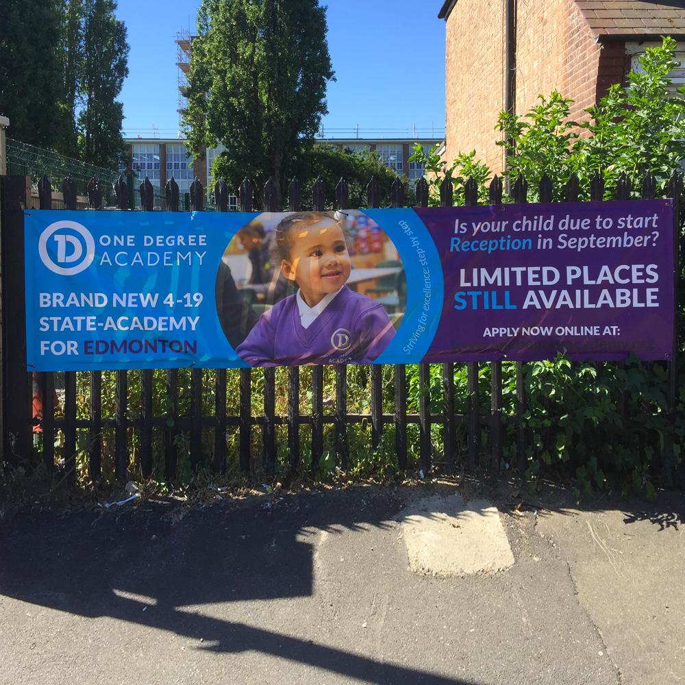 Primary PVC Banner