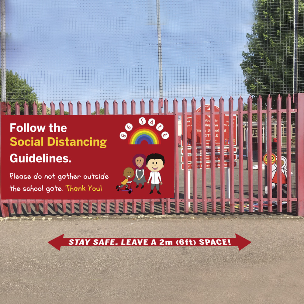 Primary Floor and Fence Graphics