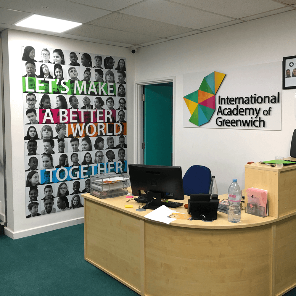 Reception Welcome Graphics