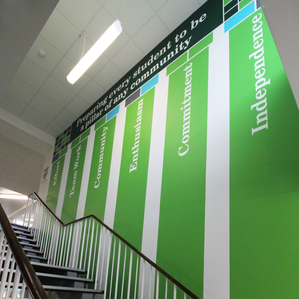 Wallpaper School Values