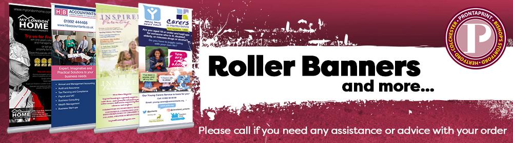 order your roller banner