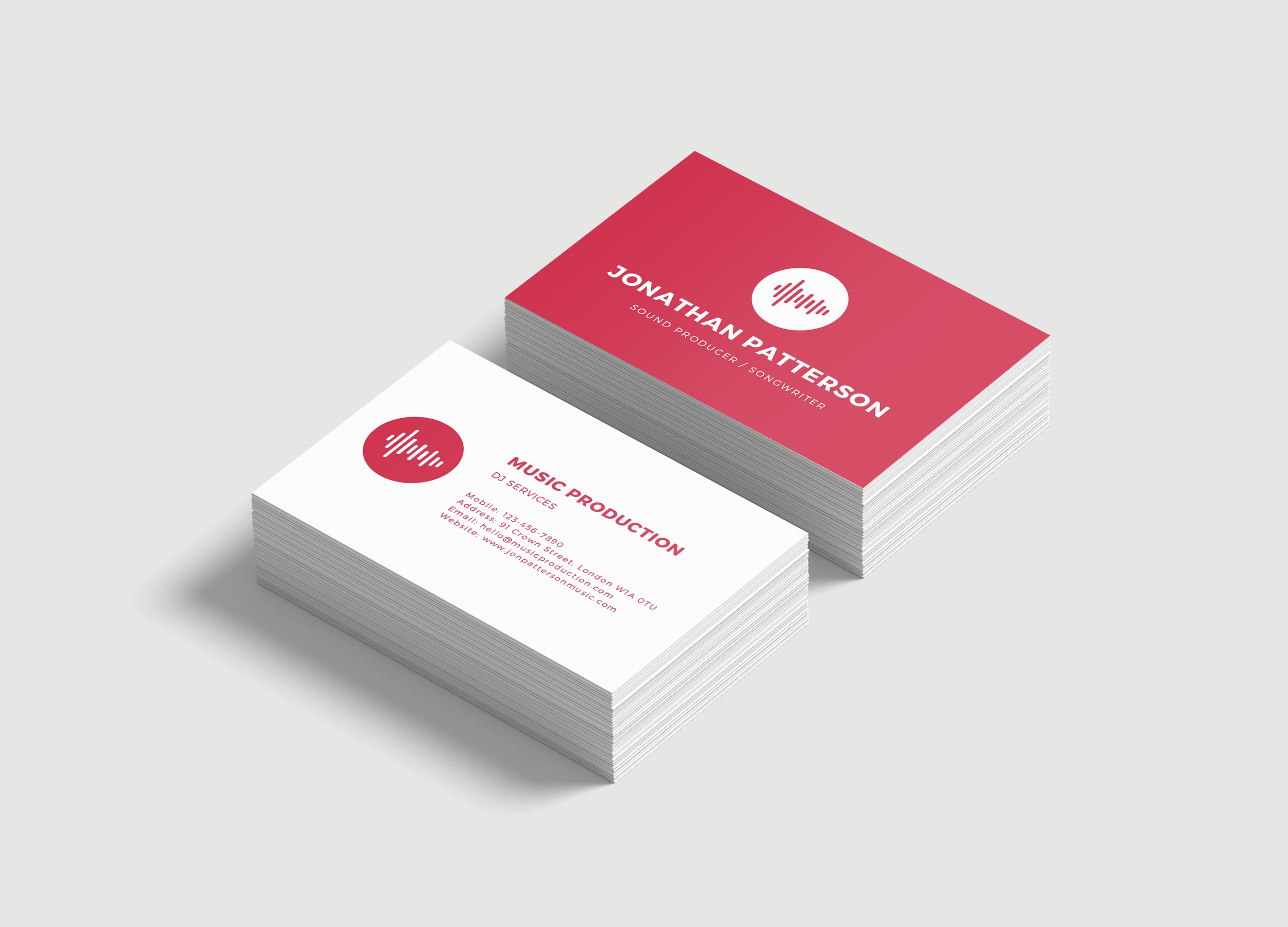 Business Card Soft Touch