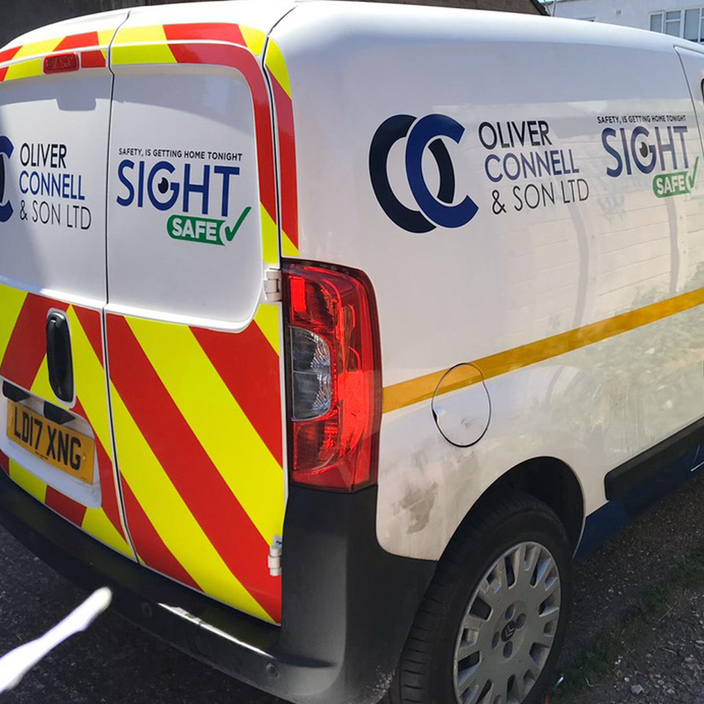 Small Van Graphics Oliver Connell