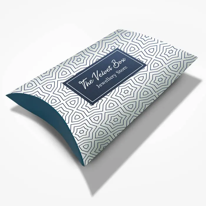 Printed Pillow Box