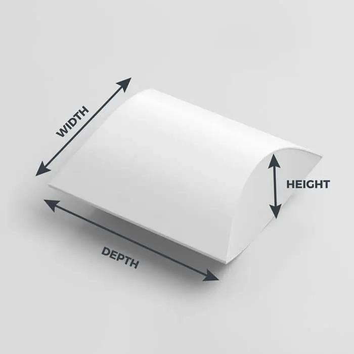 Pillow Box Dimensions