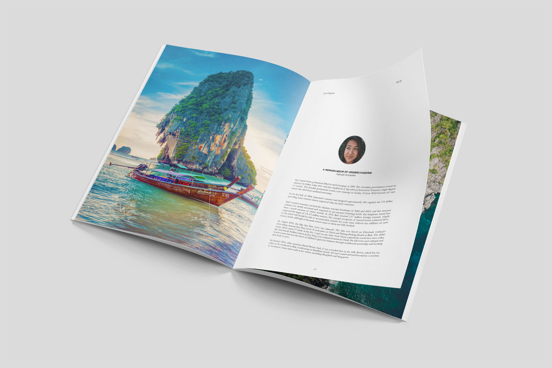 A4 Saddle Stitch Booklet
