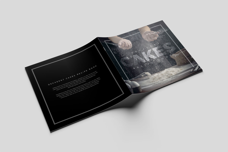 Square Stapled Booklet