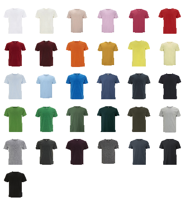 Mens Unisex Classic Jersey T Shirt